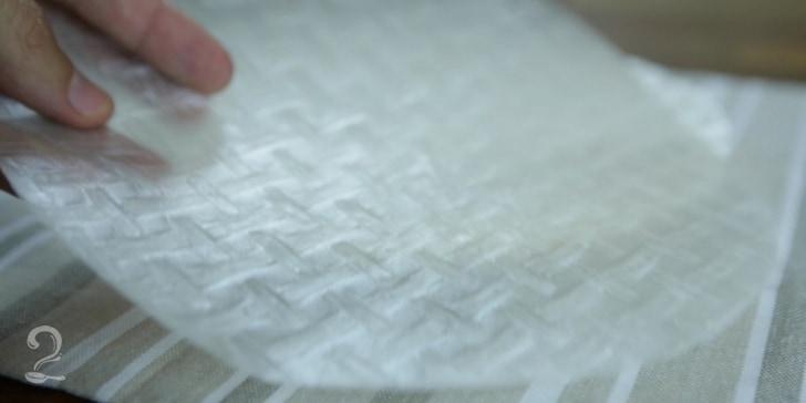 Folha de Arroz (Papel-de-arroz)