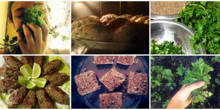 O Quibe de Trigo Vegetariano