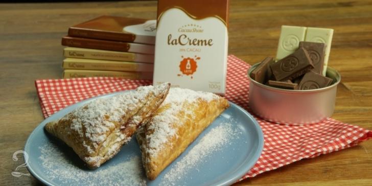 Trouxinhas de chocolate La Creme Cacau Show com Framboesa
