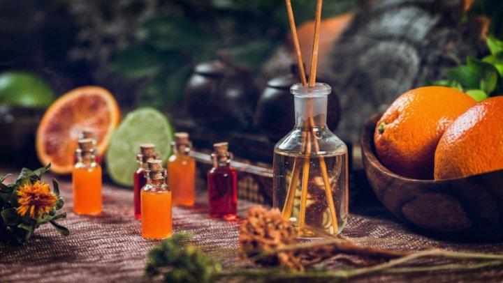 Aromaterapia: A cozinha alquimista.