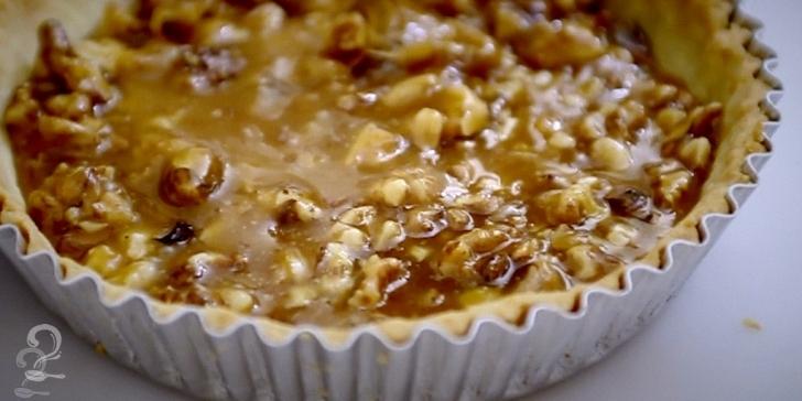 Receita de Torta de Nozes em vídeo | Gourmet a Dois