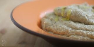 Babaganoush (babaganuj) - Pasta de Berinjela Árabe