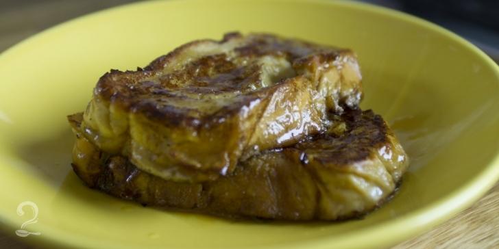 Receita de Rabanada Francesa (French Toast) | Como fazer em vídeo