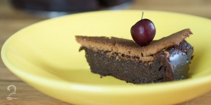 Receita de Torta de Chocolate sem Glúten em vídeo | Gourmet a Dois