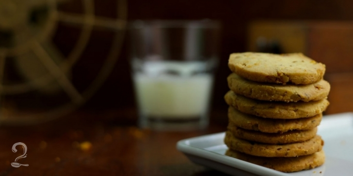 Receita de Biscoito de Laranja com Chocolate em vídeo | Gourmet a Dois