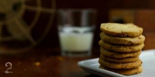 Biscoito de Laranja com Chocolate