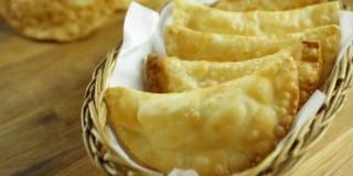 Pastel de Brie e Damasco