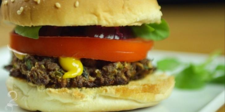 Receita de Hambúrguer de Soja em vídeo | Gourmet a Dois