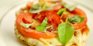Pizza de Pão Árabe
