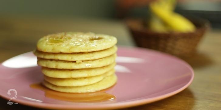 Receita de Panquecas Americanas em vídeo | Gourmet a Dois