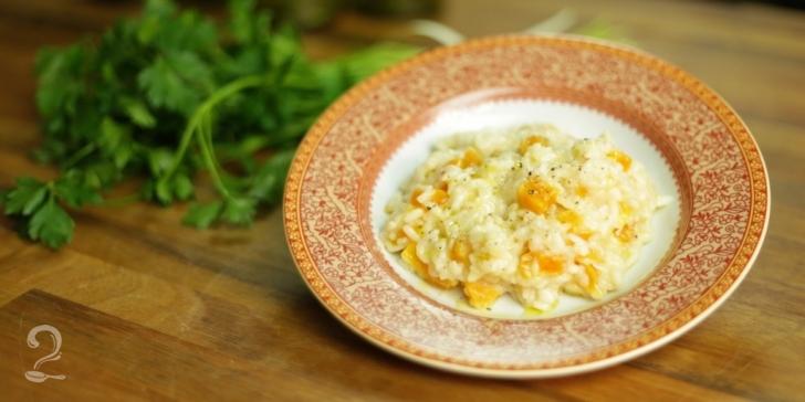 Receita de Risoto de damasco em vídeo | Gourmet a Dois