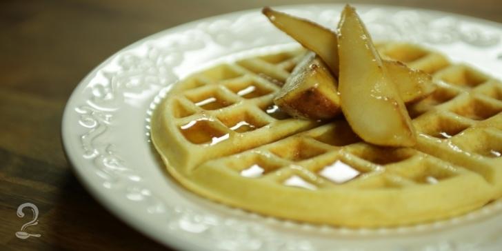 Receita de Waffle em vídeo | Gourmet a Dois
