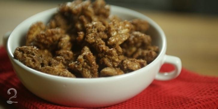 Receita de Nozes Carameladas (Nutty Bavarian) em vídeo | Gourmet a Dois