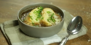 Sopa de Cebola Francesa