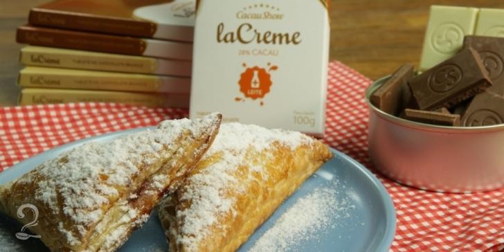 Receita de Trouxinhas de Chocolate La Creme e Framboesa | Como fazer em vídeo