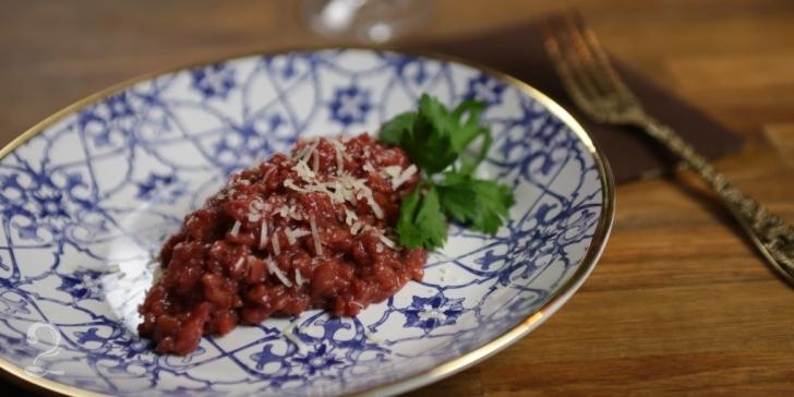 Receita de Risoto de beterraba em vídeo | Gourmet a Dois