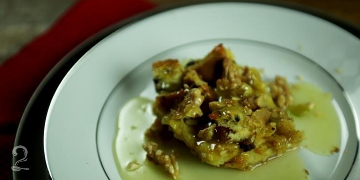 Receita de Pudim de Panetone em vídeo | Gourmet a Dois