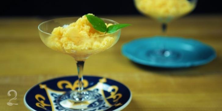 Receita de Granita de Melão (Raspadinha Siciliana) em vídeo | Gourmet a Dois