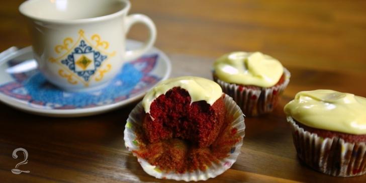 Receita de Cupcake Red Velvet | Como fazer em vídeo