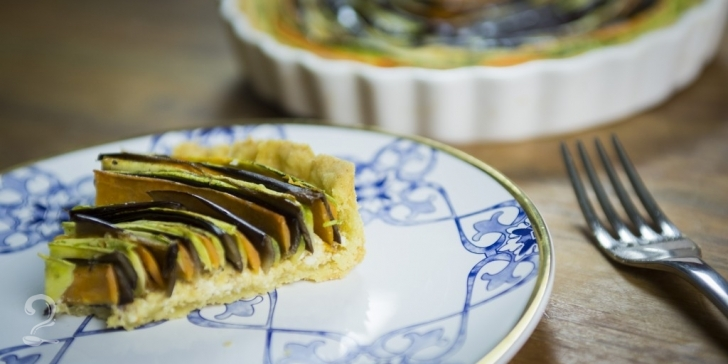 Receita de Torta Espiral de Legumes Maravilhosa em vídeo | Gourmet a Dois