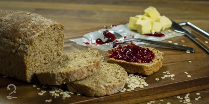 Receita de Como Fazer Pão de Forma 100% Integral - Prático e Rápido em vídeo | Gourmet a Dois