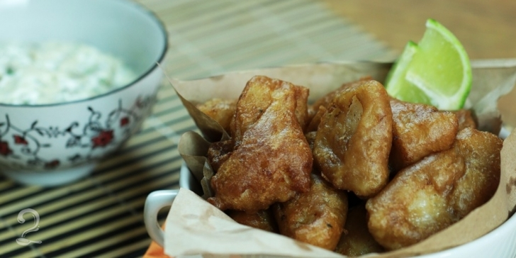 Receita de Peixe Frito com Molho Tártaro Especial em vídeo | Gourmet a Dois