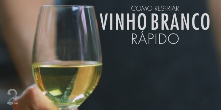 Técnica da Receita de 2 Maneiras de Resfriar (Gelar/Climatizar) um Vinho Branco Rápido | Como fazer em vídeo