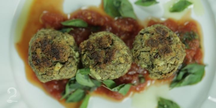 Receita de Almôndegas de Lentilha (Super Prático) | Vegetariano em vídeo | Gourmet a Dois