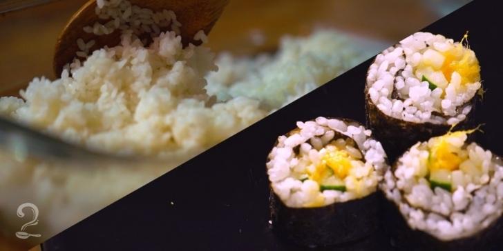 Técnica da Receita de Aprenda a Fazer Arroz para Sushi - Gohan | Como fazer em vídeo
