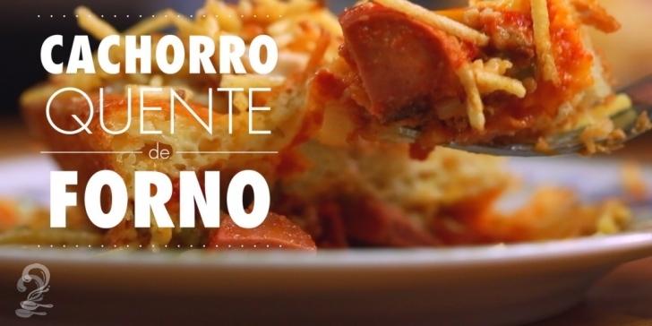 Receita de CACHORRO-QUENTE DE FORNO (Rápido e Fácil) em vídeo | Gourmet a Dois