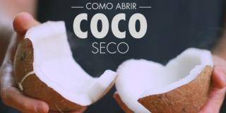 Como Abrir Coco Seco - Rápido e Prático