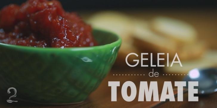 Receita de Como fazer GELEIA de TOMATE | Receita de Compota Doce em vídeo | Gourmet a Dois