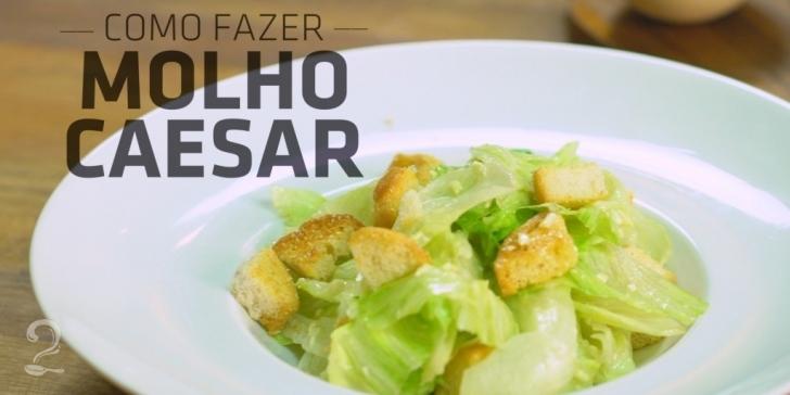 Técnica da Receita de Como Fazer Molho Caesar (César) | Como fazer em vídeo