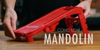 Como Usar Mandolin (Mandolina ou Mandoline) Cortar e Ralar Legumes