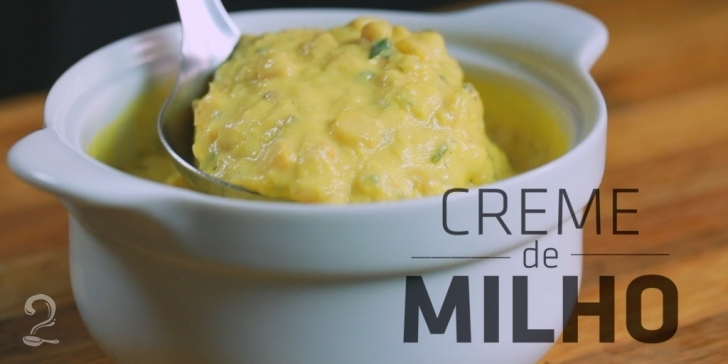 Receita de CREME DE MILHO Rápido, Fácil e MARAVILHOSO! em vídeo | Gourmet a Dois