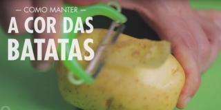 Dica Para Não Escurecer as Batatas (Manter a Cor Natural)