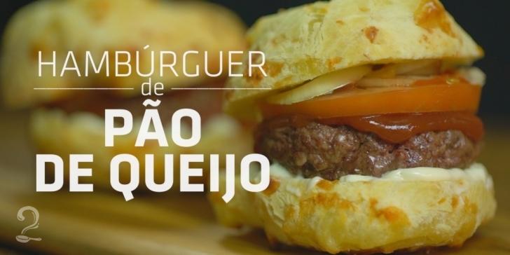 Receita de HAMBÚRGUER no PÃO de QUEIJO (O melhor de todos!) em vídeo | Gourmet a Dois