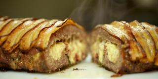 O melhor Rocambole de Carne Moída do Mundo - Com Queijo e Bacon