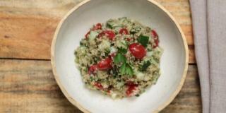 Tabule de Quinoa | Receita Saudável Prática | Fit