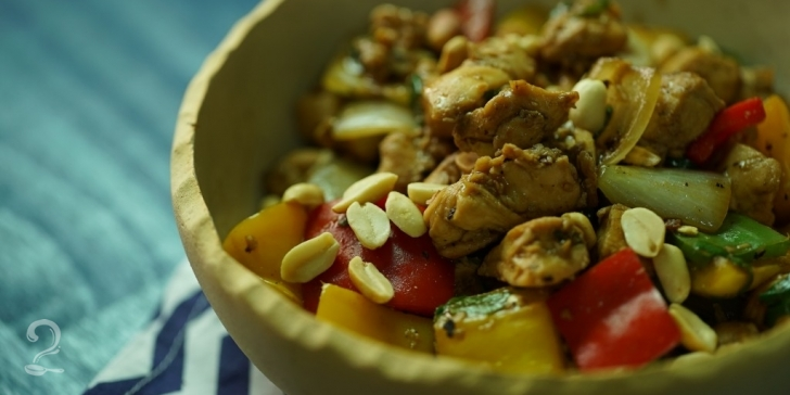 Receita de Frango Xadrez (Melhor que China in Box!) | Culinária Oriental em vídeo | Gourmet a Dois