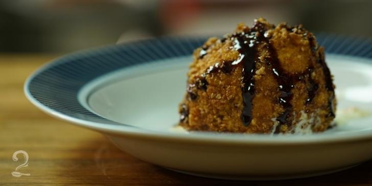 Receita de Sorvete Frito (FÁCIL, CRIATIVO E GOSTOSO!) em vídeo | Gourmet a Dois