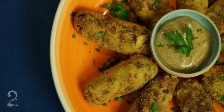 Receita de Croquete de Carne Moída Fácil (SUPER MOLHADINHO) em vídeo | Gourmet a Dois