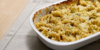 Mac and Cheese de Couve-flor