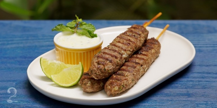 Receita de Receita de Kafta com Molho de Iogurte - Churrasco sem Fogão | Como fazer em vídeo