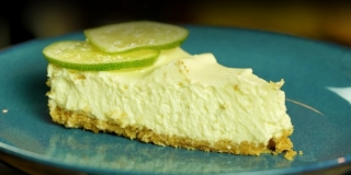 Cheesecake de Torta de Limão Sem Forno