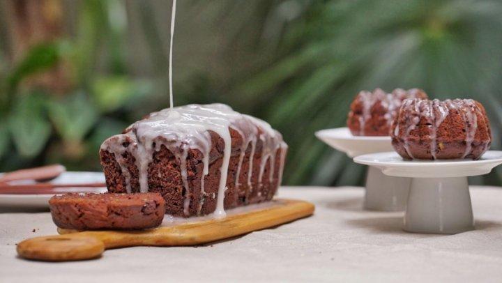 Bolo ou Pão de Abobrinha com Chocolate