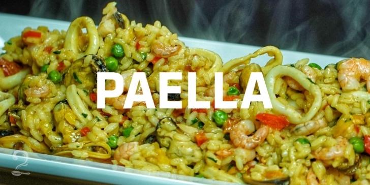 Receita de Paella de Frutos do Mar em vídeo | Gourmet a Dois