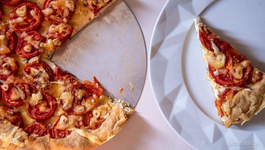 Torta de Tomate com Queijo
