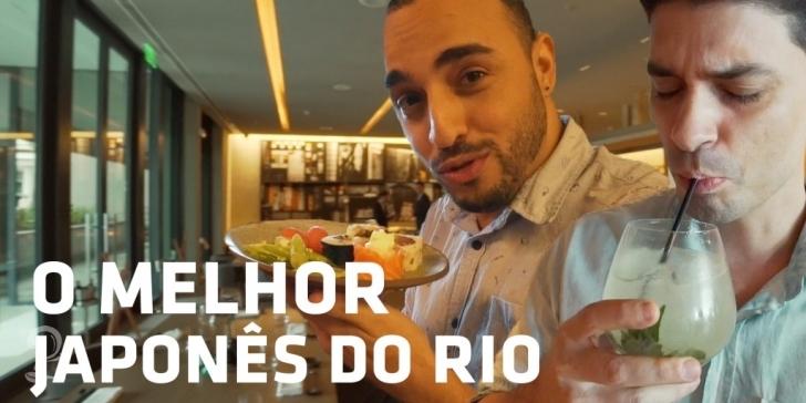 CONHEÇA O MELHOR JAPONÊS DO RIO! | Culinária Japonesa | #9 Vlog