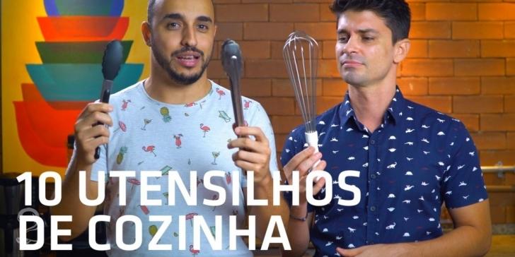10 UTENSÍLIOS de Cozinha Que NÃO PODEM Faltar em Sua Casa! | Vlog #6